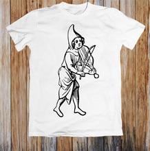 Anglo Saxon Minstrel Unisex T Shirt Apparel Casual Tee Shirt