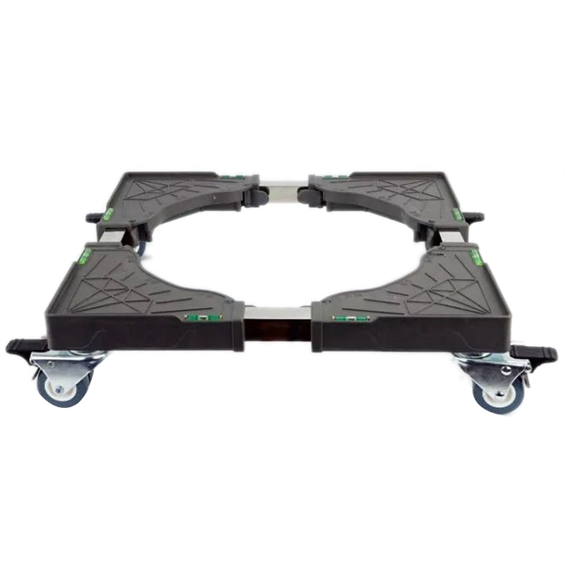ثلاجة بعجلة عالمية قابلة للإزالة ، غسالة ، قاعدة قابلة للتعديل ، حامل متحرك ، عربة تكييف الهواء