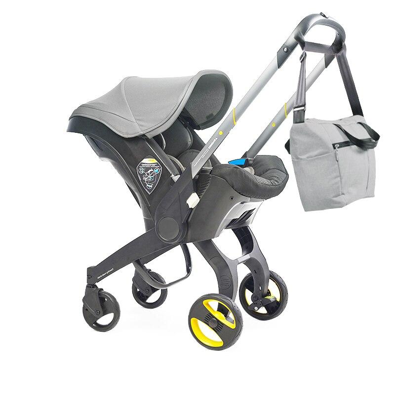 Baby Stroller 4 In 1 Car Seat Newborn Prams Buggy Safety Cart Carriage enlarge