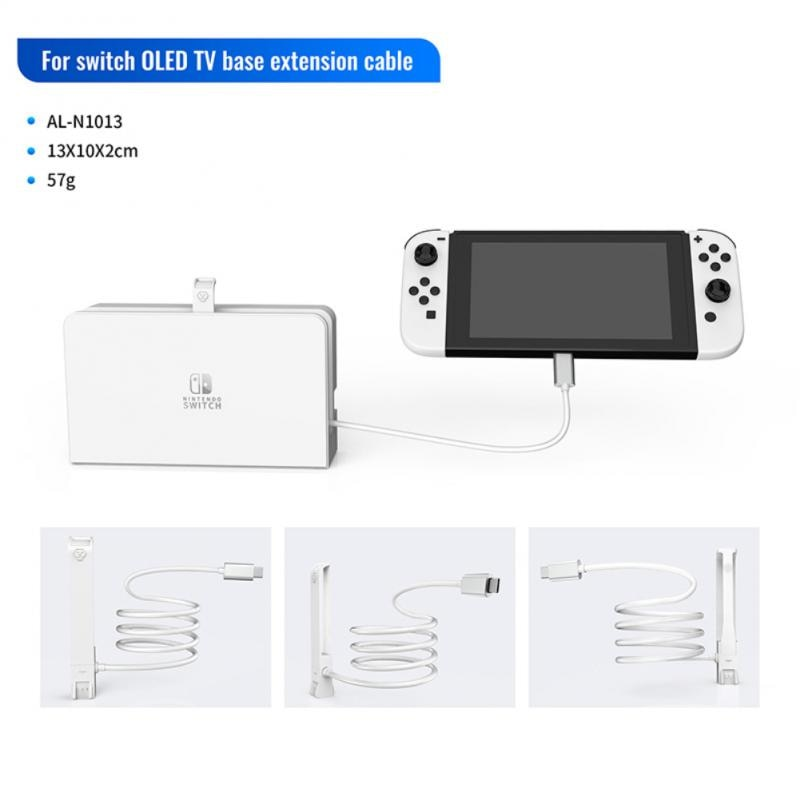 Usb C Extender Cable for Nintendo Switch TV Video Base Extension Cable Data Transfer Charging Extend Wire Cord Game Accessories