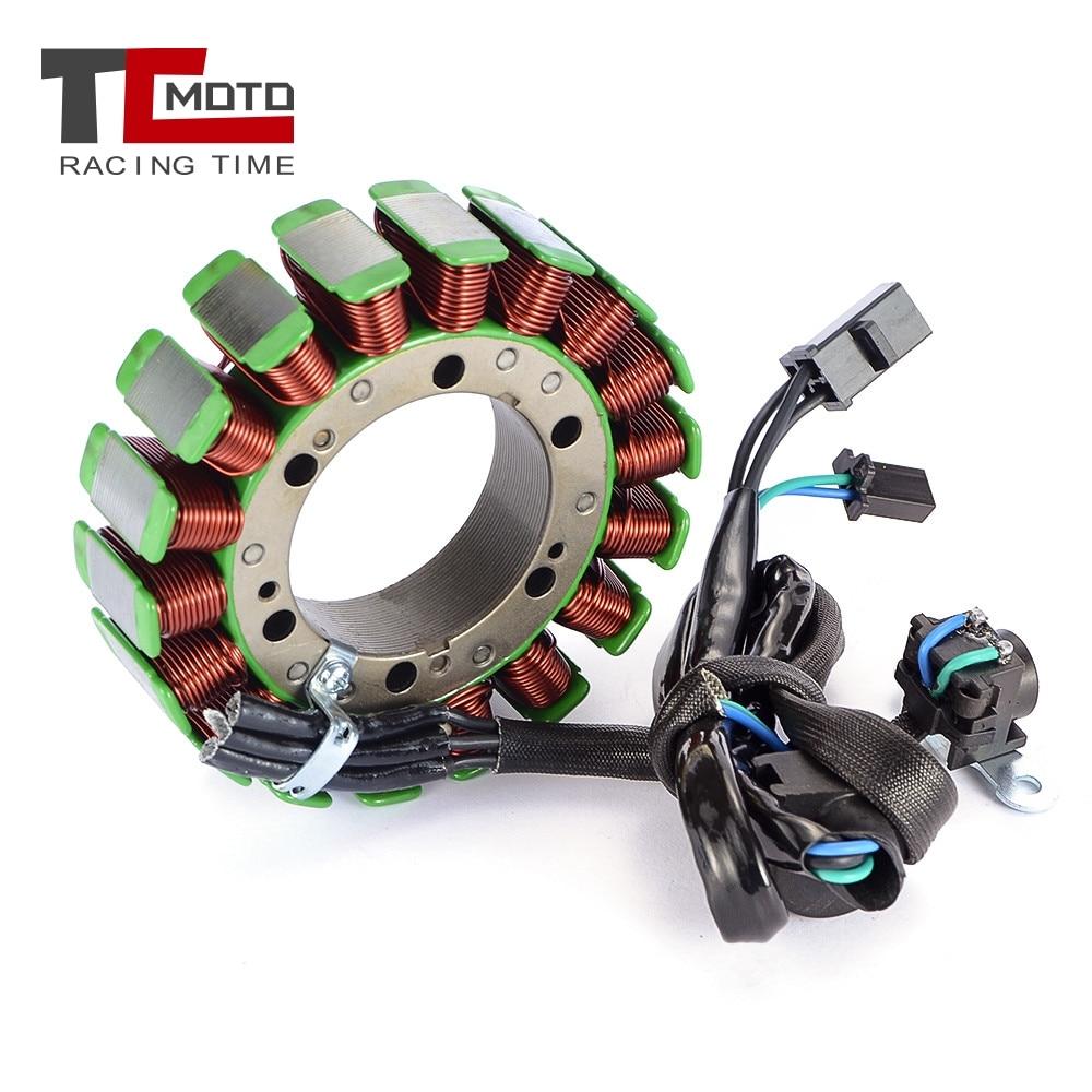 Bobina comp do estator do gerador da motocicleta de tcmoto para suzuki vl800 volusia 800 k1/k2/k3/k4 bobina de motor 32101-41f00 2001-2005