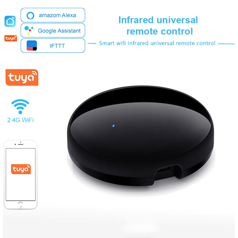 Tuya WiFi IR Fernbedienung für Klimaanlage TV, Smart Home Infrarot Universal-fernbedienung Controller Für Alexa, google Hause