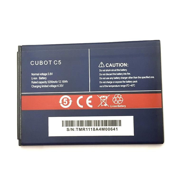 Bateria 3200mah c5 para cubot c5 j5, nova, original, em estoque, bateria de alta qualidade + número de rastreamento