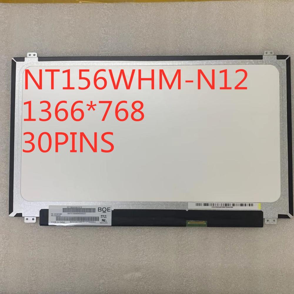 Envío Gratis NT156WHM-N12 B156XTN04.0 LTN156AT37 LP156WHB TPA 1 B156XW04 V.7 V.8 B156XTN03.1 N156BGE-EA1 30 pines