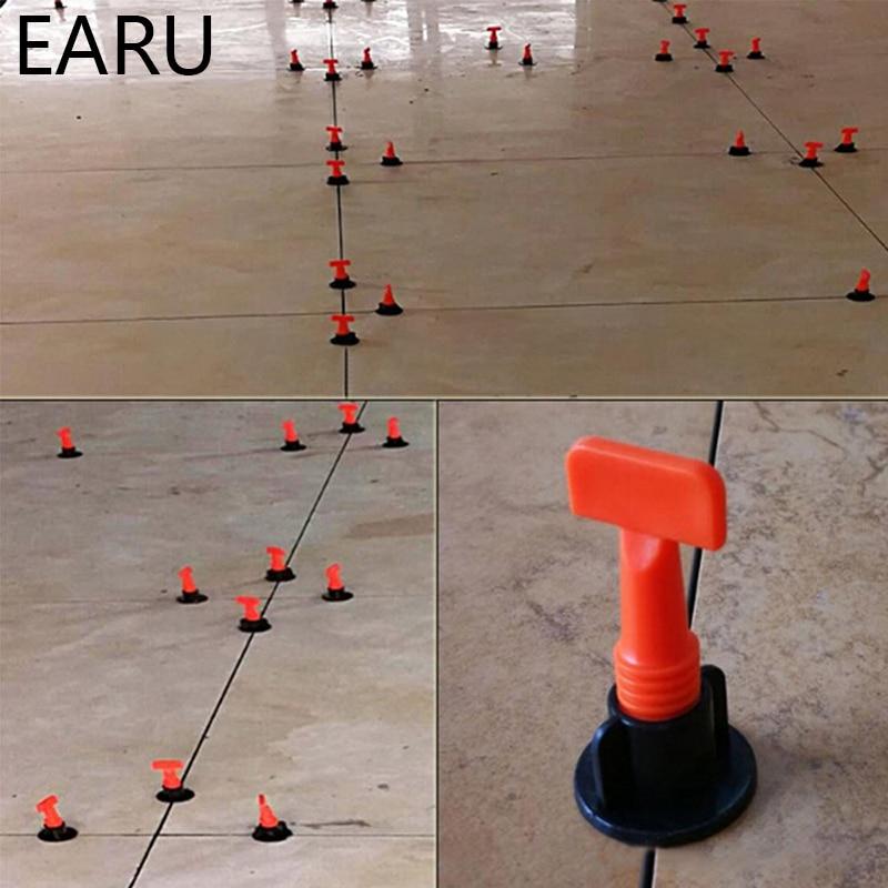 50 pz / set cunei di livello distanziatori per piastrelle per pavimento piastrella per rivestimento distanziatore per piastrelle sistema di livellamento livellatore localizzatore distanziatori