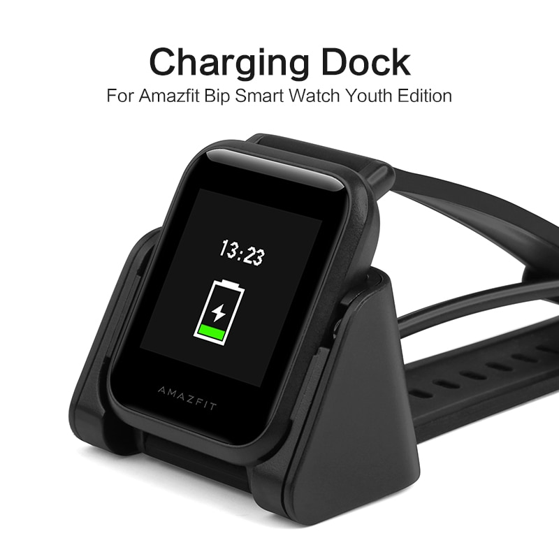 SIKAI ساعة ذكية شحن حوض ل Amazfit بيب شاحن استبدال المحمولة المغناطيسي مهد ل شاومي Huami الشباب ساعة ذكية