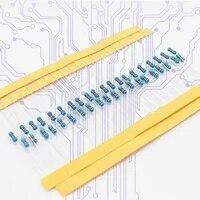 100pcs 14w resistors metal film resistor 0 25w 1 1k 1 5k 2k 2 7k 3 6k 3 9k 5 1k 5 6k 6 8k 9 1k 10k 20k 30k 68k 100k 1m ohms