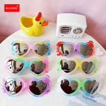 Children Cartoon Heart-shaped Toy Glasses Sunglasses Baby Girl Boy  Love Goggles Toy Glasses Outdoor