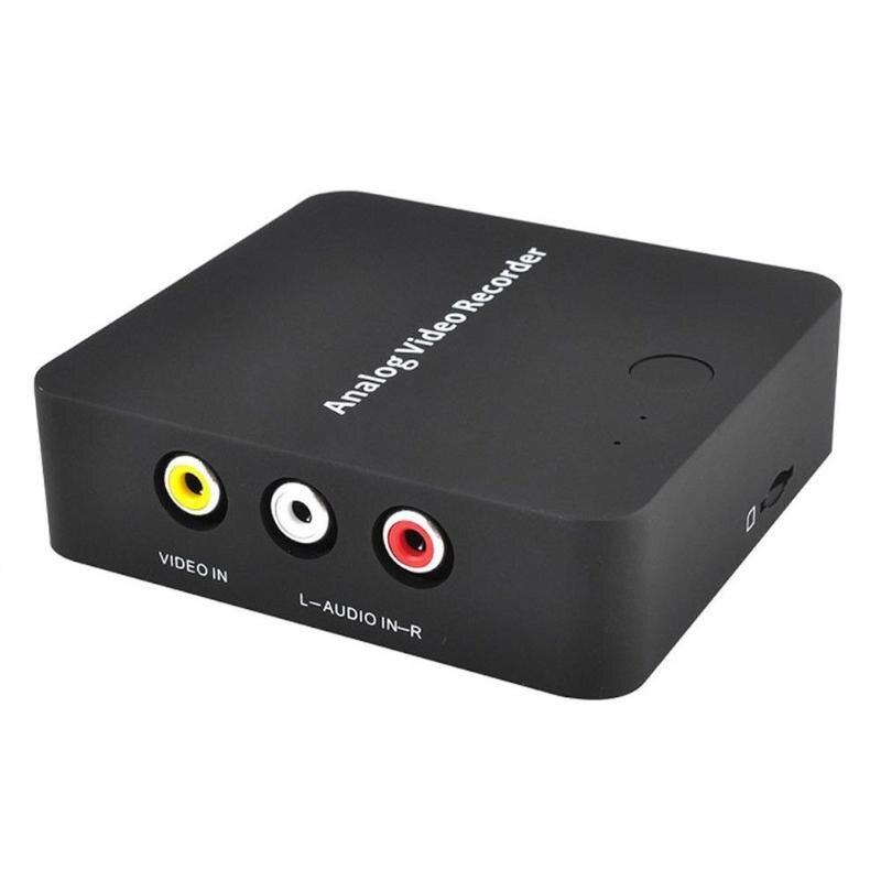 Grabadora AV analógica videocámara de cinta VHS VCR DVD DVR 8mm Hi8 HDMI Caja de captura de vídeo a formato Digital a tarjeta TF