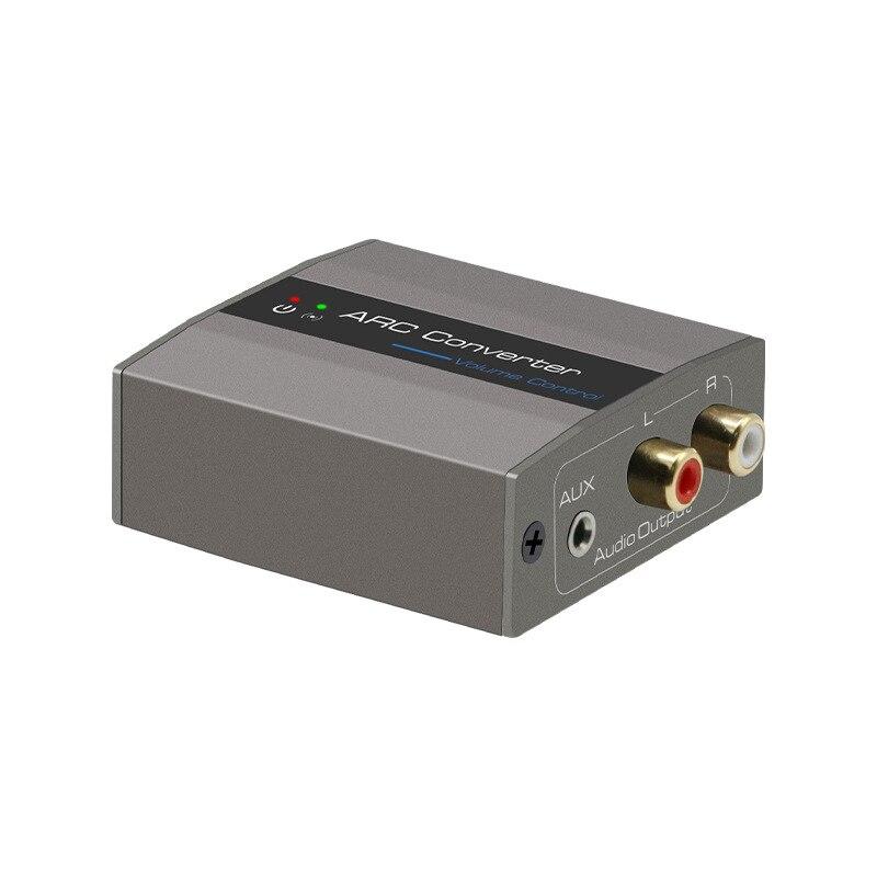 Arc Converter Hdmi Boog Om Rac O Converter L/R Rca 3.5Mm O Adapter Voor Hd Dvd Blu-Ray PS3 PS4 Apple Tv