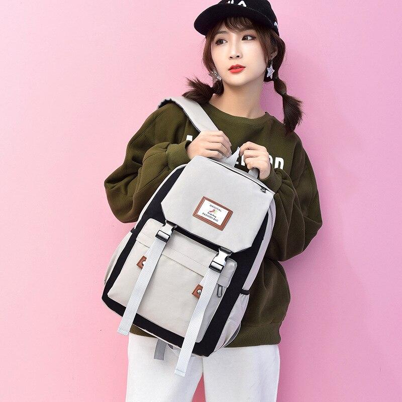 Популярные японские школьные ранцы для мальчиков, мужские дорожные сумки на плечо, школьные Саржевые рюкзаки для подростков, сумки для книг