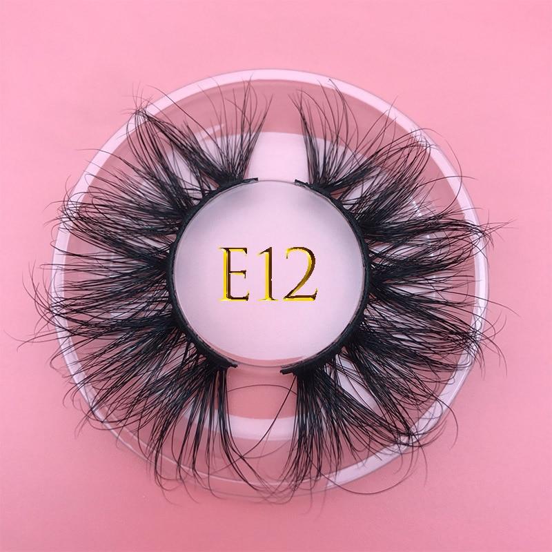 AliExpress - 25mm long MIKIWI mink lashes100% cruelty free lashes 3D REAL MINK handmade reusable natural eyelash popular false lashes makeup