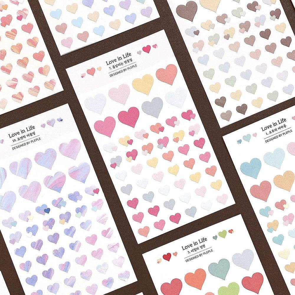 pegatinas-decorativas-para-la-agenda-2-hojas-100-uds-con-bonito-gradiente-de-corazones-amorosos