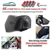hd 4k 2160p plug and play car dvr video recorder dash cam camera for land rover range rover sport range rover evoque 2014 2018