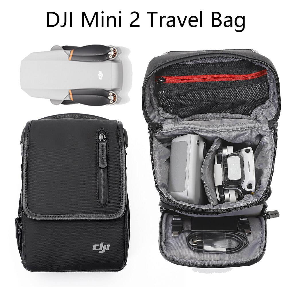 Original dji mini 2 Bag Shoulder Bag Carrying Case for mavic mini 2  Drone Accessories