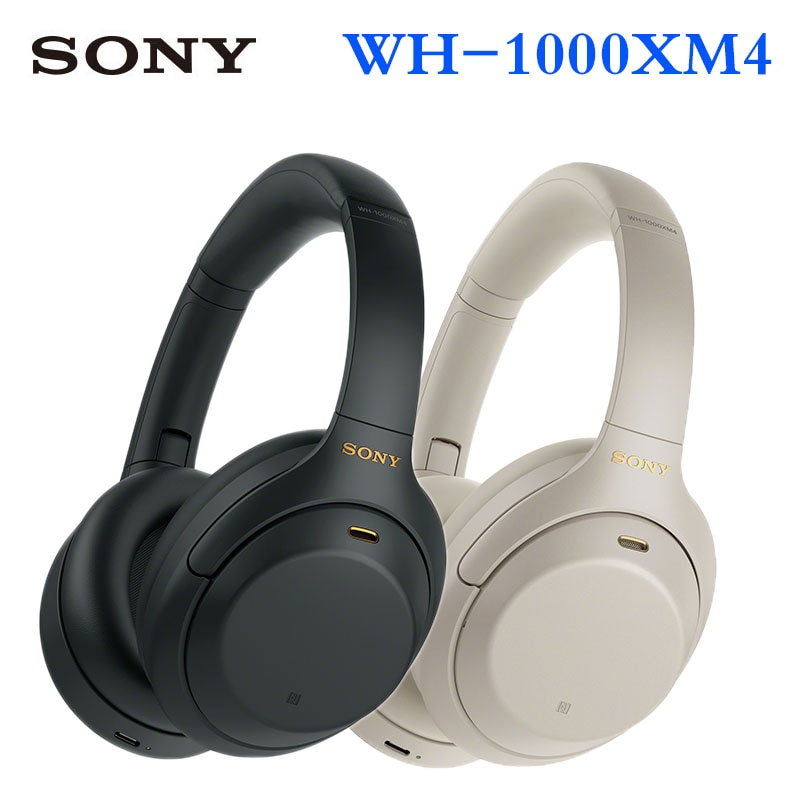 Sony WH-1000XM4 Active Noise Cancelling Wireless Bluetooth Headset Subwoofer for Android Huawei Apple 1000XM3 Upgrade