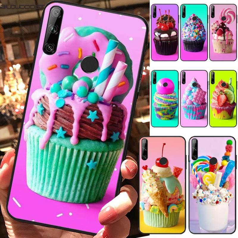 CUCI в форме сердца с рисунком Десерт Мороженое чехол для телефона Huawei Y6 Prime Pro 2019 Y 6 2019 MRD-LX1 MRD-LX1F