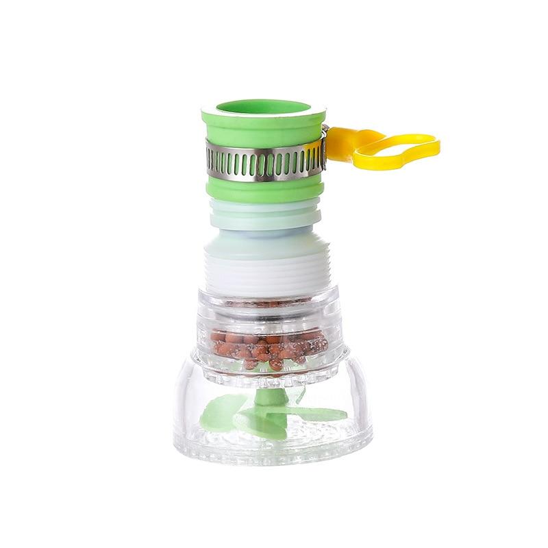Вращающаяся на 360 градусов насадка-распылитель кран прочный кран фильтрующая насадка 3 режима кухонный гаджет фотофильтр кран F132