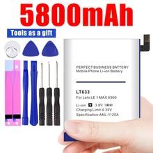 5800mAh LT633 batterie pour Letv Le 1 Max X900 Le une Max X900 batterie