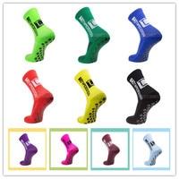 Новинка 2021, профессиональные Нескользящие мужские носки для футбола, велосипедные спортивные носки нейлоновые Дышащие носки для бега