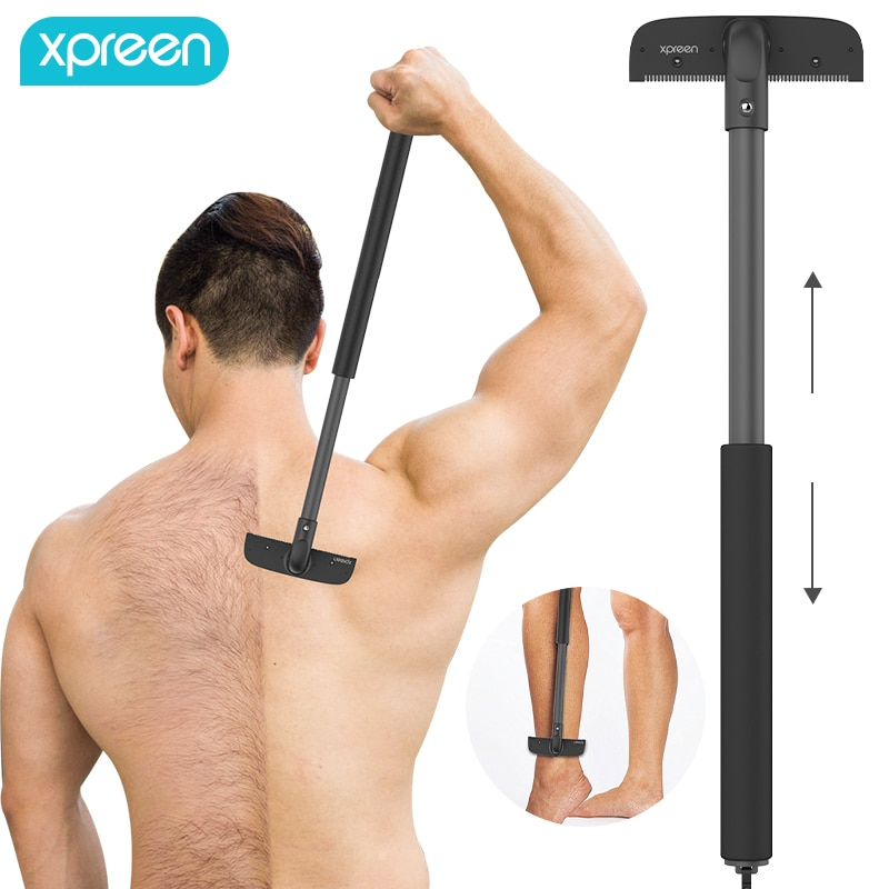 Регулируемый растягивающийся триммер для спины, Бритва для мужчин, высокое качество