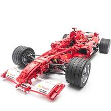Technic F1 Racer Car Building Blocks Bricks Toys Set Boy Game Car Formula 1 Kids Toys for Children Compatible with 8674