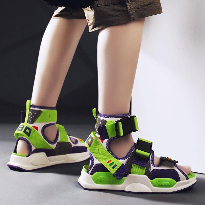 Sandalias De playa para Hombre, zapatos informales, Tenis, Zapatillas planas De verano