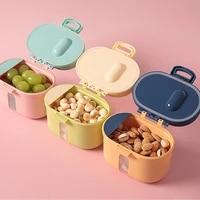 baby milk powder storage box infant feeding food formula dispenser container toddler snacks food mix portable storage container