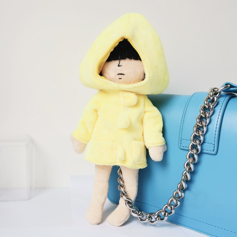 30cm Little Nightmares Plush Toy Adventure Game Cartoon Cute Stuffed Dolls Kawaii Gift Toys for Girls Kids Fans Collection