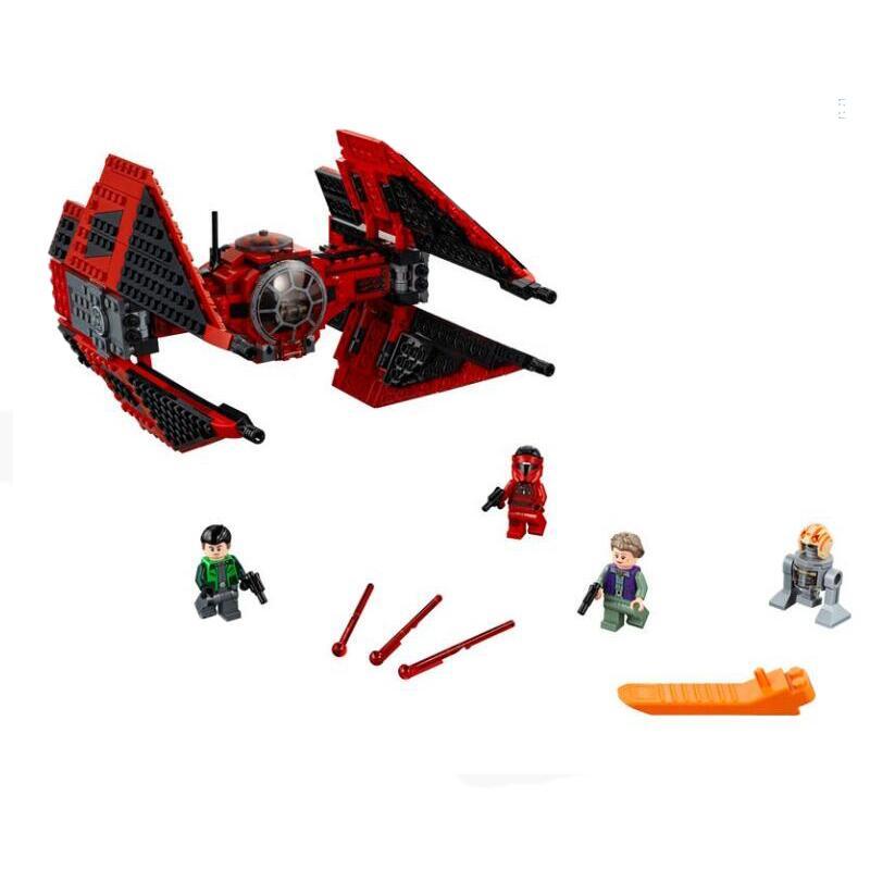 Bloques de construcción lepinblock de Star Wars, modelo de juguetes para niños compatibles con Star Wars, modelo 75149 79242, 75240
