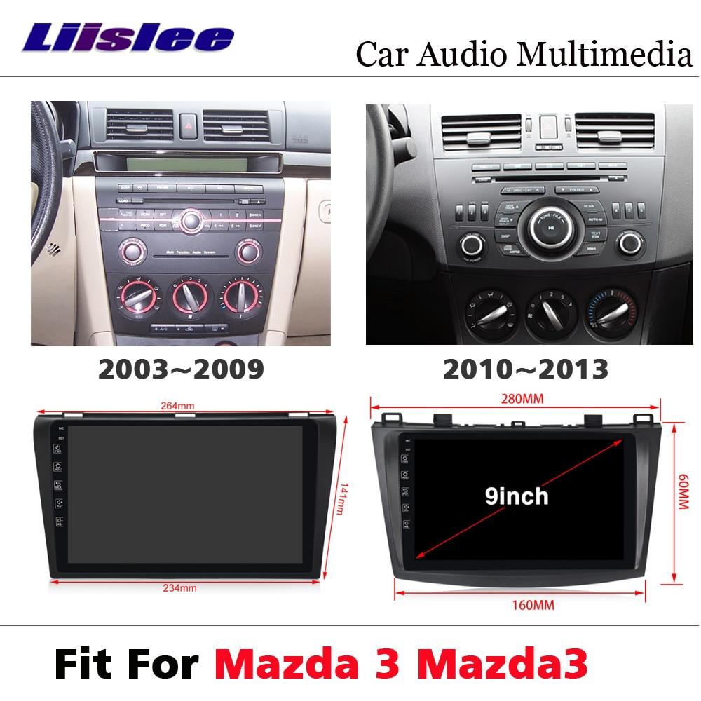 Auto AutoRadio DVD-Multimedia-Player Für Mazda 3 Mazda3 2003 ~ 2012 Android Radio Audio Touchscreen BT GPS Navi navigation System