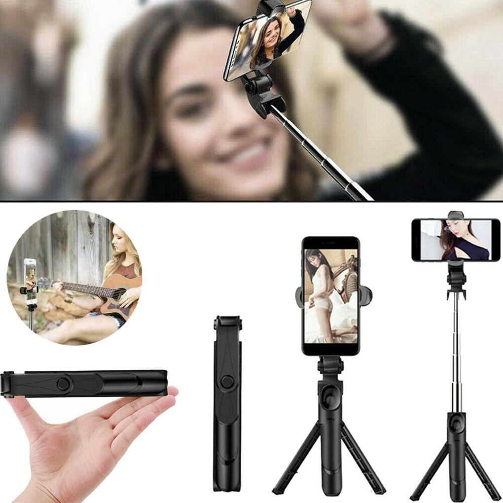 Bluetooth Selfie Stick trípode con Control remoto inalámbrico Selfie Pole Smartphone soporte en vivo
