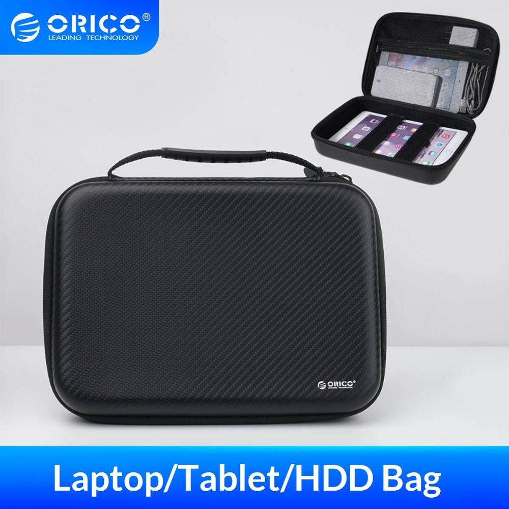 Bolsa ORICO para Macbook Air Pro de 12 pulgadas, funda para ordenador portátil, funda SSD HDD, bolsa para banco de energía, funda para tableta, funda, bolsa de almacenamiento con correa