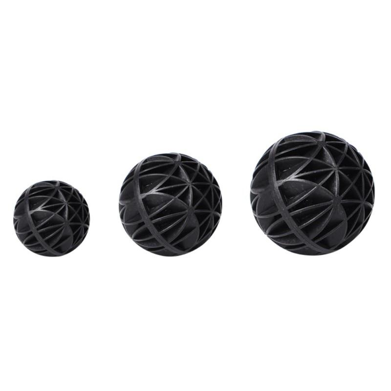 100 Uds biobolas para acuarios filtros de pecera negro 16MM/26MM accesorios acuarios...