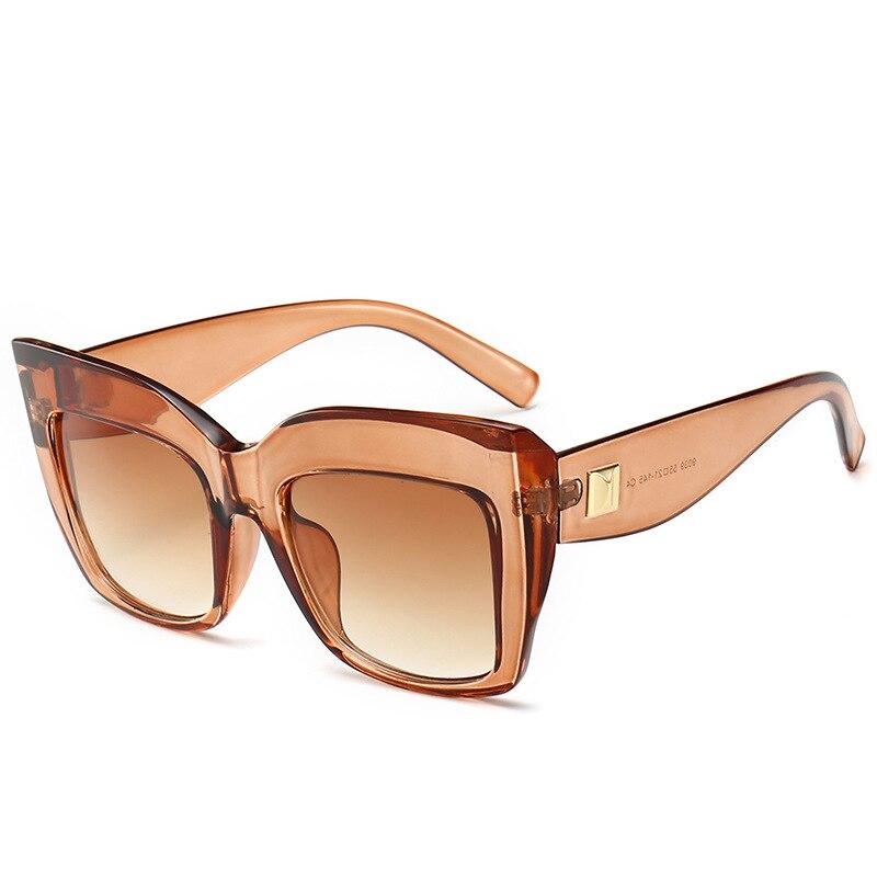 Cat Eye Luxury Vintage Large Frame Sunglasses Women Uv400   Plastics Female Fashion Brand Shade Eyewear Gafas De Sol
