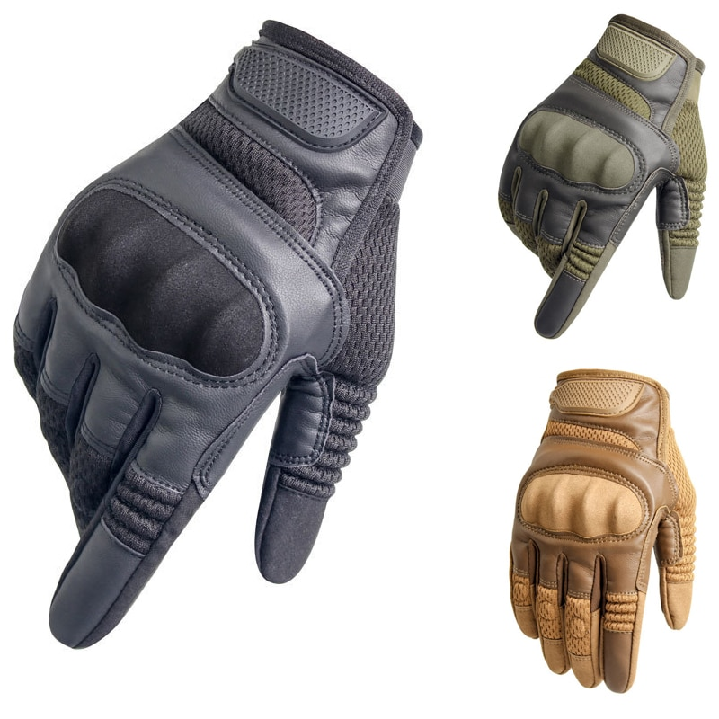 antarctica outdoor sports tactical gloves full finger hiking military men s gloves armor five levels cut prevention shell gloves Touch Screen Gloves Tactical Rubber Hard Knuckle Full Finger Gloves Men Military Paintball Airsoft Bicycle Hiking Leather Gloves