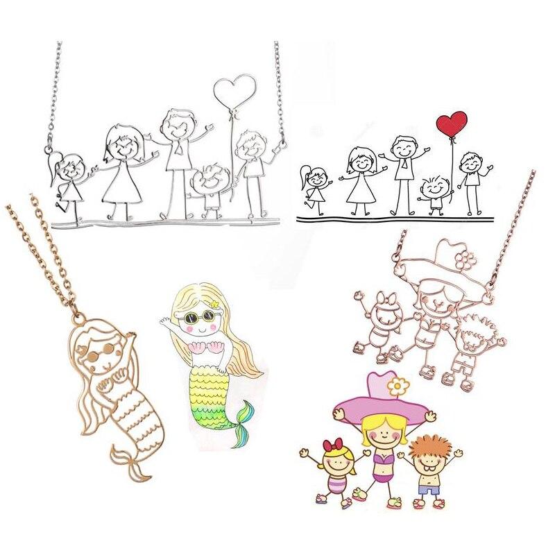 Ожерелья-с-реальным-рисунком-оригинальные-ожерелья-с-изображением-ребенка-детский-художественный-подарок-на-день-матери-ожерелье-с-изоб