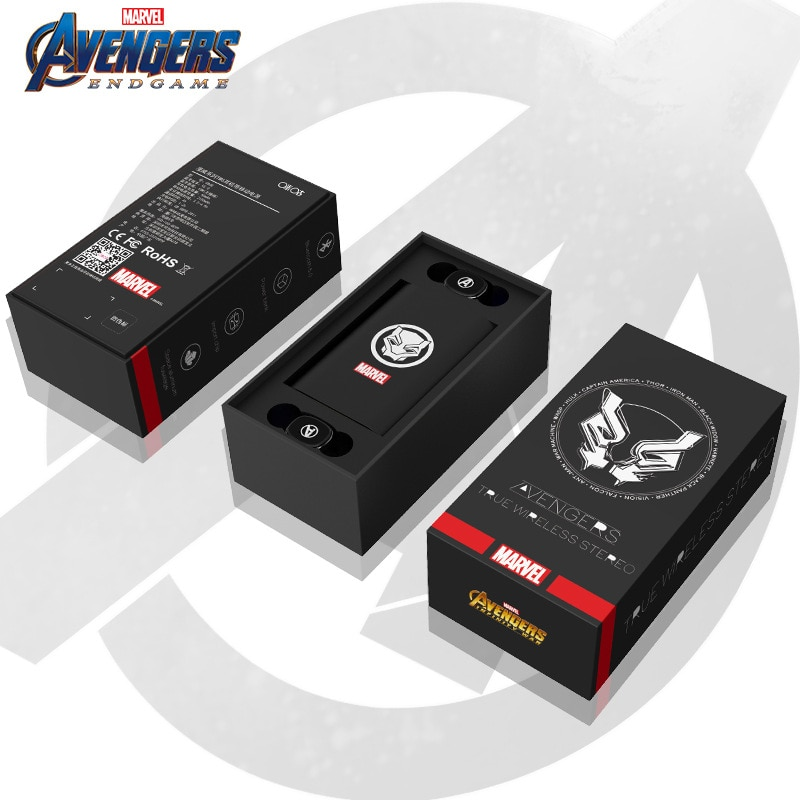 Marvel's Original Headset TWS Wireless 5.0 Headset In-ear Avengers 4 Captain America Mobile Power Bluetooth-compatible enlarge