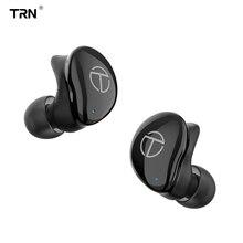 TRN TWS T200 Bluetooth 5,0 TWS auricular inalámbrico Bluetooth Cancelación de ruido auricular manos libres en el oído deporte auriculares Gaming
