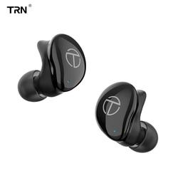 Trn tws t200 bluetooth 5.0 tws blutooth cancelamento de ruído fone de ouvido sem fio handsfree no ouvido esporte earbud jogos