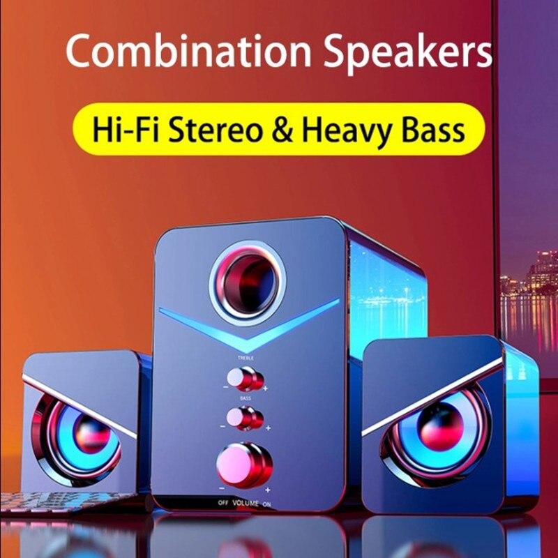 Sistema de cine en casa, 5V, PC, Subwoofer de graves, Bluetooth, compatible...