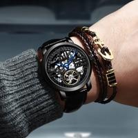 2019 New Erang Watch Men's Genuine Men's Famous Brand Mechanical Watch Men's Automatic Green Water Ghost Student Men's Watch