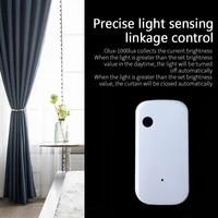 2 3 4Pcs Tuya Zigbee Wifi Verlichtingssterkte Sensor Licht Sensor Helderheid Sensor Smart Home Automation Multi-apparaat Linkage