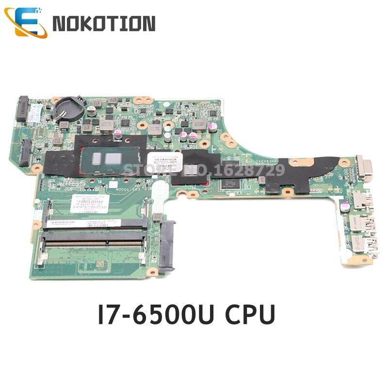 NOKOTION-carte graphique HP Probook 827026 G3   827026-501, processeur 827026-601, processeur DDR3 R7 M340 GPU, carte mère