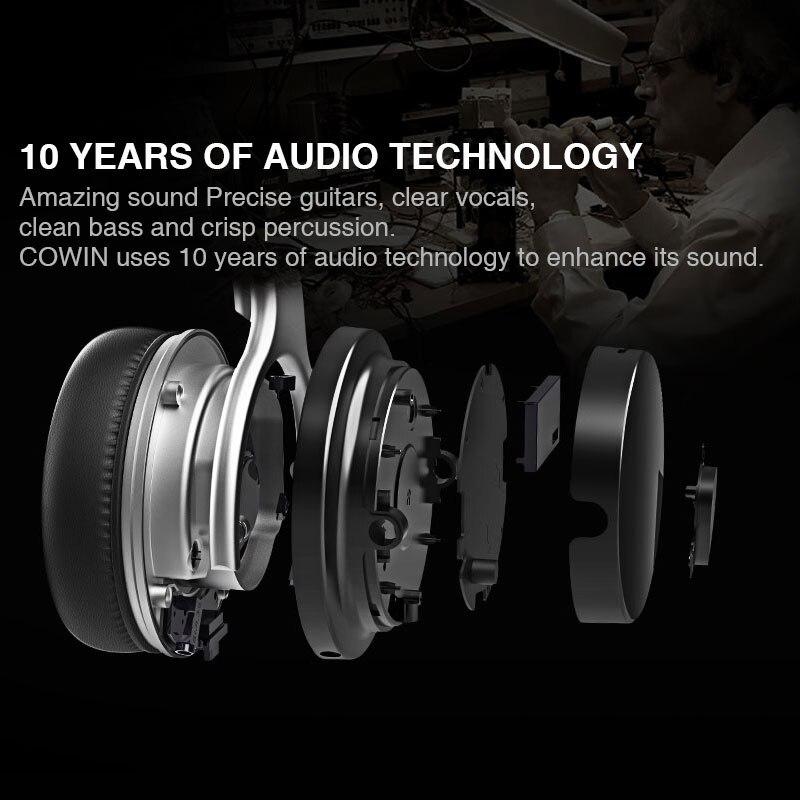 Original Cowin E7[Upgraded] ANC bluetooth Headphone wireless bluetooth headset Earphone Active Noise Cancelling headphones enlarge