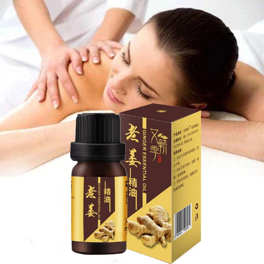 30ML Plant Therapy Lymphatic Drainage Ginger Oil Natural Anti Aging Essential Oils SPA Body Massage Oil essential Oil недорого