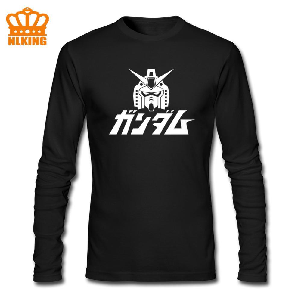 Coolprint anime camisa móvel 2020 terno gundam asa t-shirts mangas compridas primeiro gundam RX-78-2 robôs gigantes cosplay motivos camisas