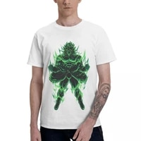 anime the legendary saiyan broly aesthetic clothes mens basic short sleeve t shirt graphic funny tops