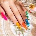 ROSALIND Гель-лак гибридные лаки для ногтей маникюр осенние цвета основа грунтовка для ногтей художественный Гель-лак для ногтей Полуперманентная эмаль