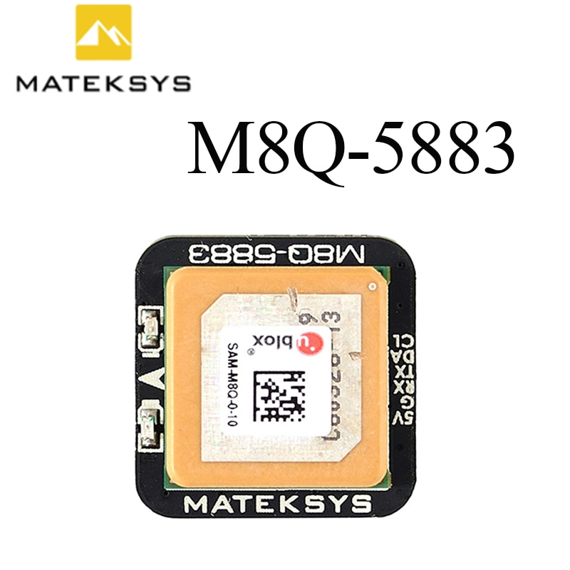 Matek Systems M8Q-5883 SAM-M8Q GPS & QMC5883L Compass Module for RC Drone FPV Racing